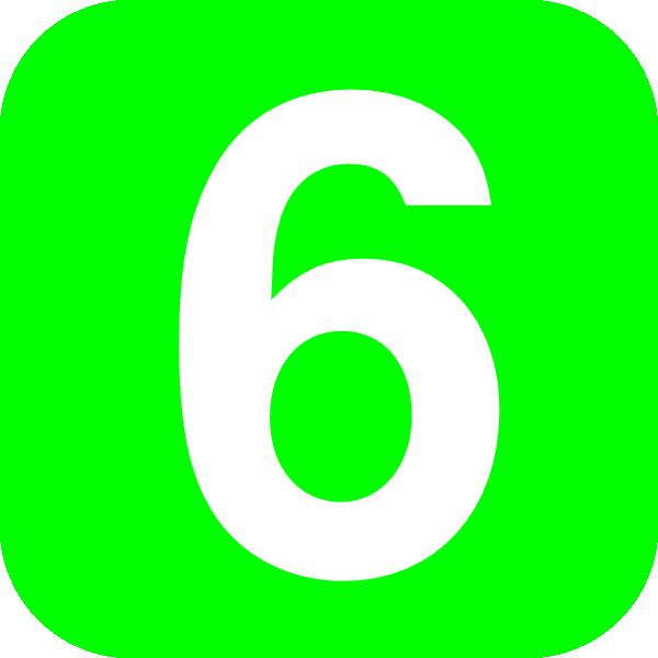 Number 6 Clip Art
