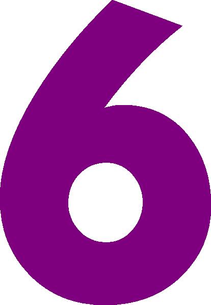 Number 6 Clipart U0026middot; «-Number 6 Clipart u0026middot; «-10