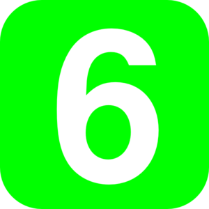 Number 6 Green Clip Art At Clker Com Vec-Number 6 Green Clip Art At Clker Com Vector Clip Art Online Royalty-1