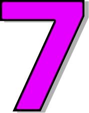 Number 7 Clip Art-number 7 clip art-4
