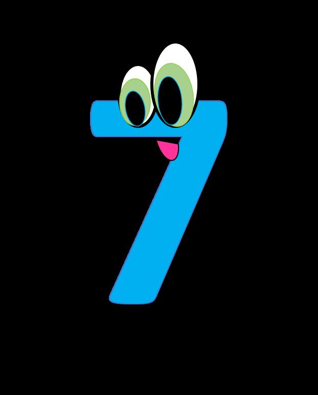 Number 7 Clip Art-number 7 clip art-6