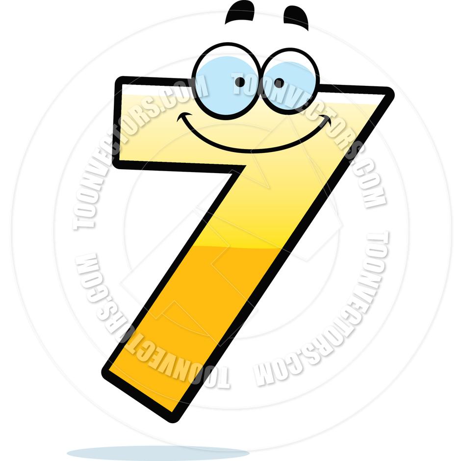 Number 7 Clip Art-number 7 clip art-7