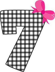 Number 7 Clipart Black And .-number 7 clipart black and .-8