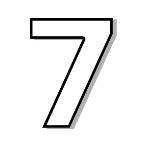 Number 7 Clipart-Number 7 Clipart-10