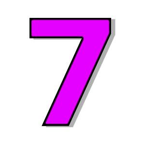 Number 7-Number 7-14