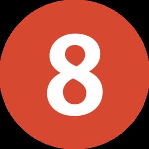 Number 8 Clip Art-Number 8 Clip Art-6