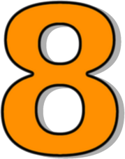 Number 8 Orange Clipart-Number 8 Orange Clipart-10