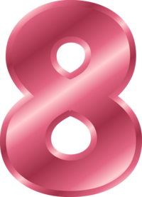 Number 8 Vector Clip Art-Number 8 Vector Clip Art-12