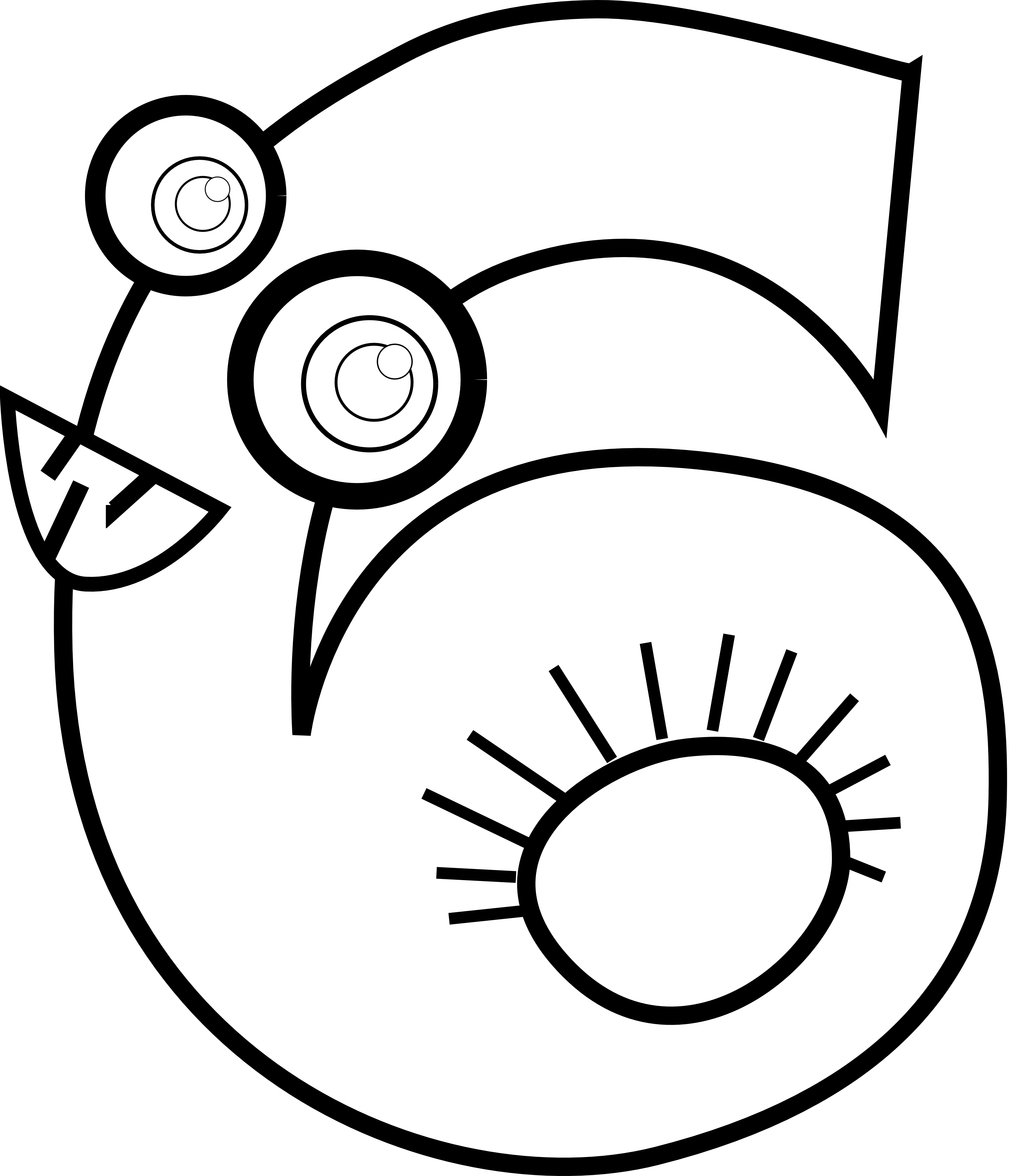 numbers clipart black and whi - Number Clipart Black And White
