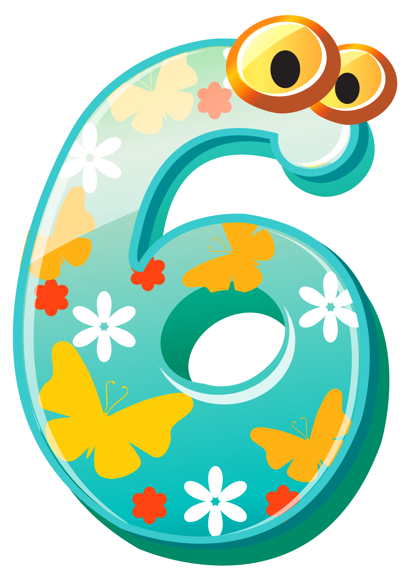 Numbers clip art kids free clipart images image