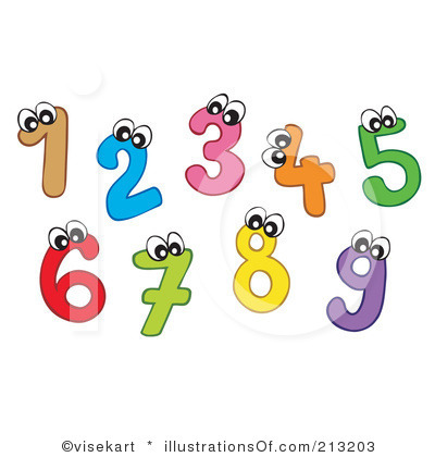Numbers Clip Art-Numbers Clip Art-3