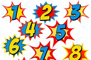 Numbers Clipart-Clipartlook.c - Numbers Clipart