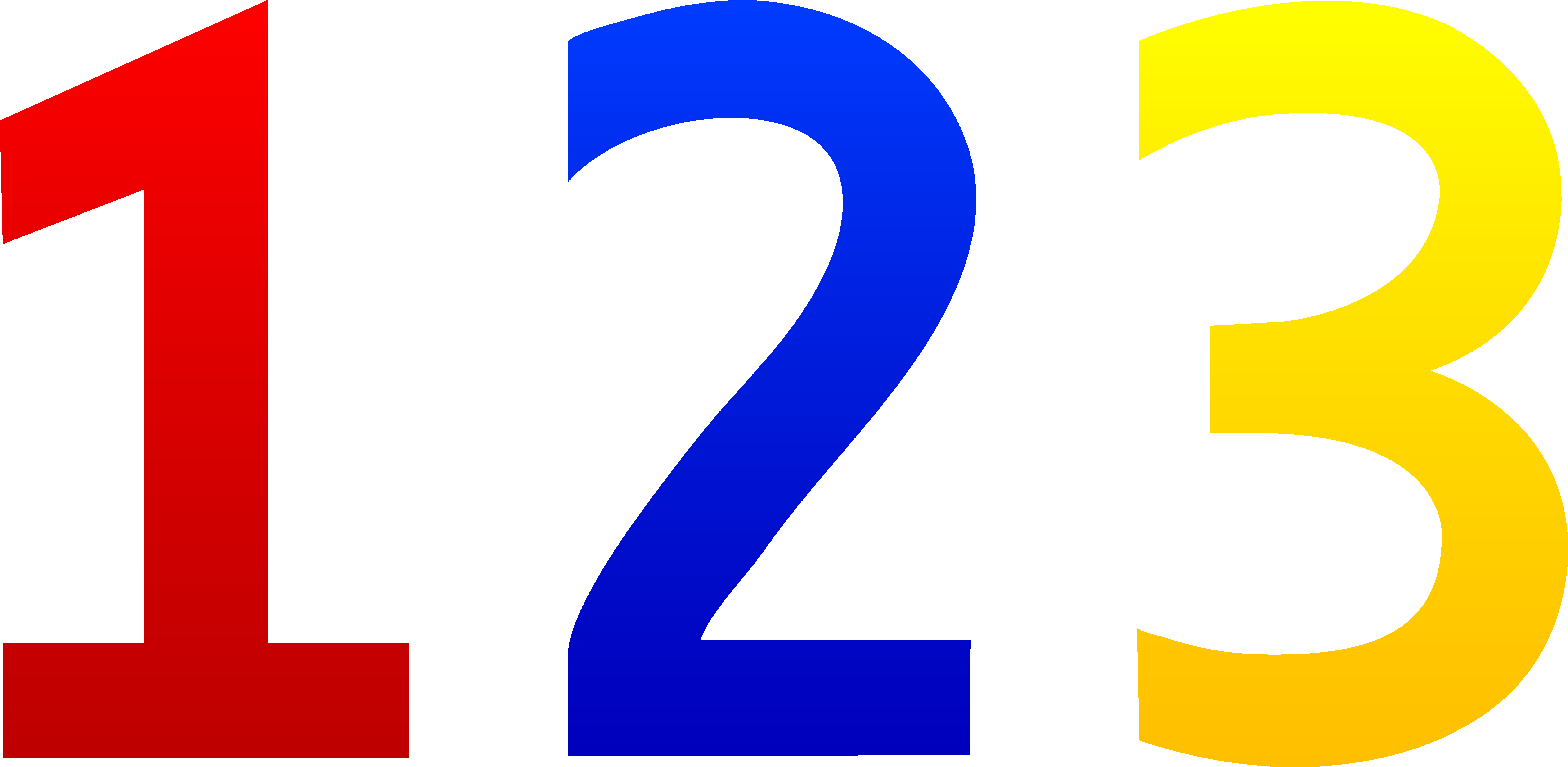 Numbers Clipart 0-Numbers Clipart 0-17