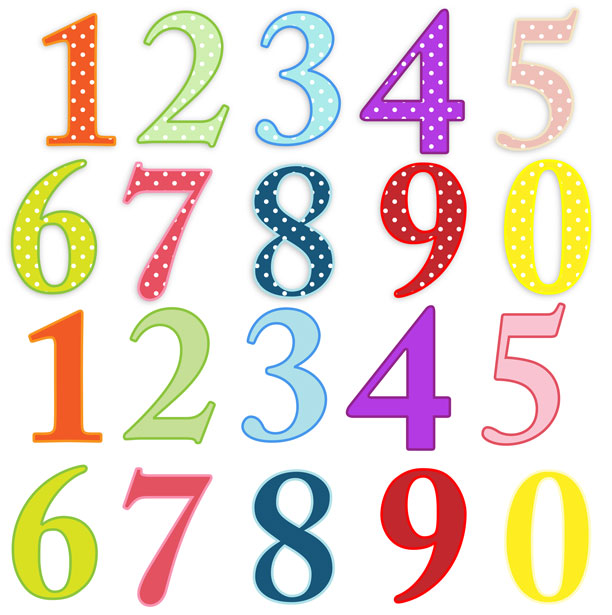 Numbers Clipart 1 10 Clipart Panda Free Clipart Images