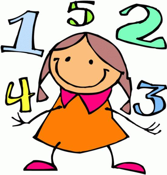 Numbers number 2 clipart imag - Numbers Clipart