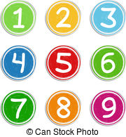 . ClipartLook.com Numbers - Set of hand drawn numbers, vector eps10.