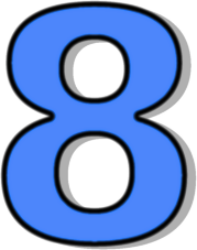 Numbers Of 8