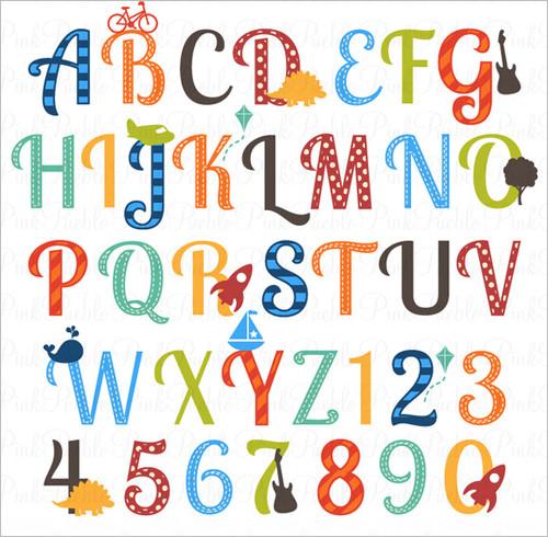 Nursery Alphabet Letters .-Nursery Alphabet Letters .-17