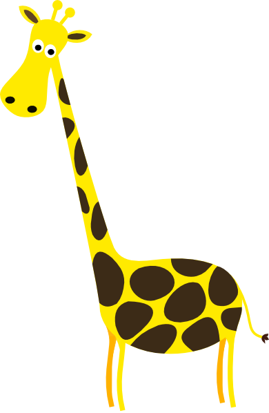 Nursery Animal Clip Art. Nursery Giraffe-Nursery Animal Clip Art. Nursery Giraffe svg-7