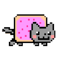 Nyan Cat Clipart-Clipartlook.com-200