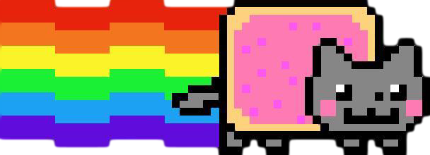 Nyan Cat Clipart-Clipartlook.com-608
