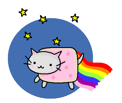 Nyan Cat by Allocaton ClipartLook.com