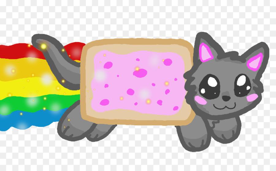 Nyan Cat Clip art - Kawaii Png