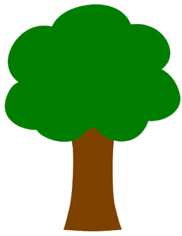 oak tree clipart - Tree Clipart