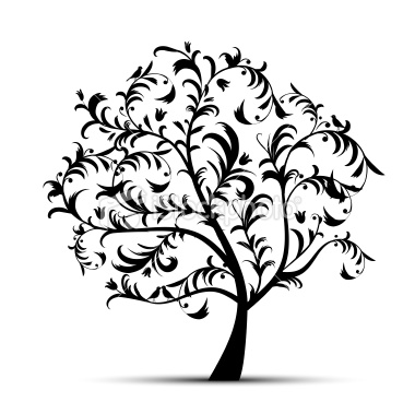 Oak Tree Silhouette-oak tree silhouette-5