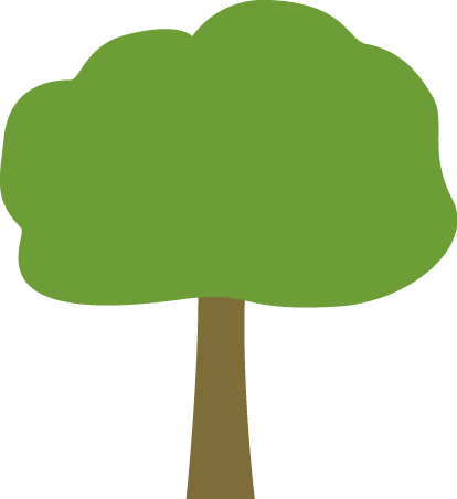 Oak Tree Clip Art Image - Large Green An-Oak Tree Clip Art Image - large green and brown oak tree.-11