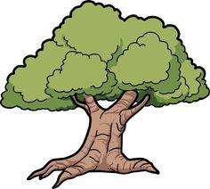 Oak Tree Clip Art | Tree Oak Scalable Ve-Oak Tree Clip Art | Tree Oak Scalable Vector Graphics SVG-9