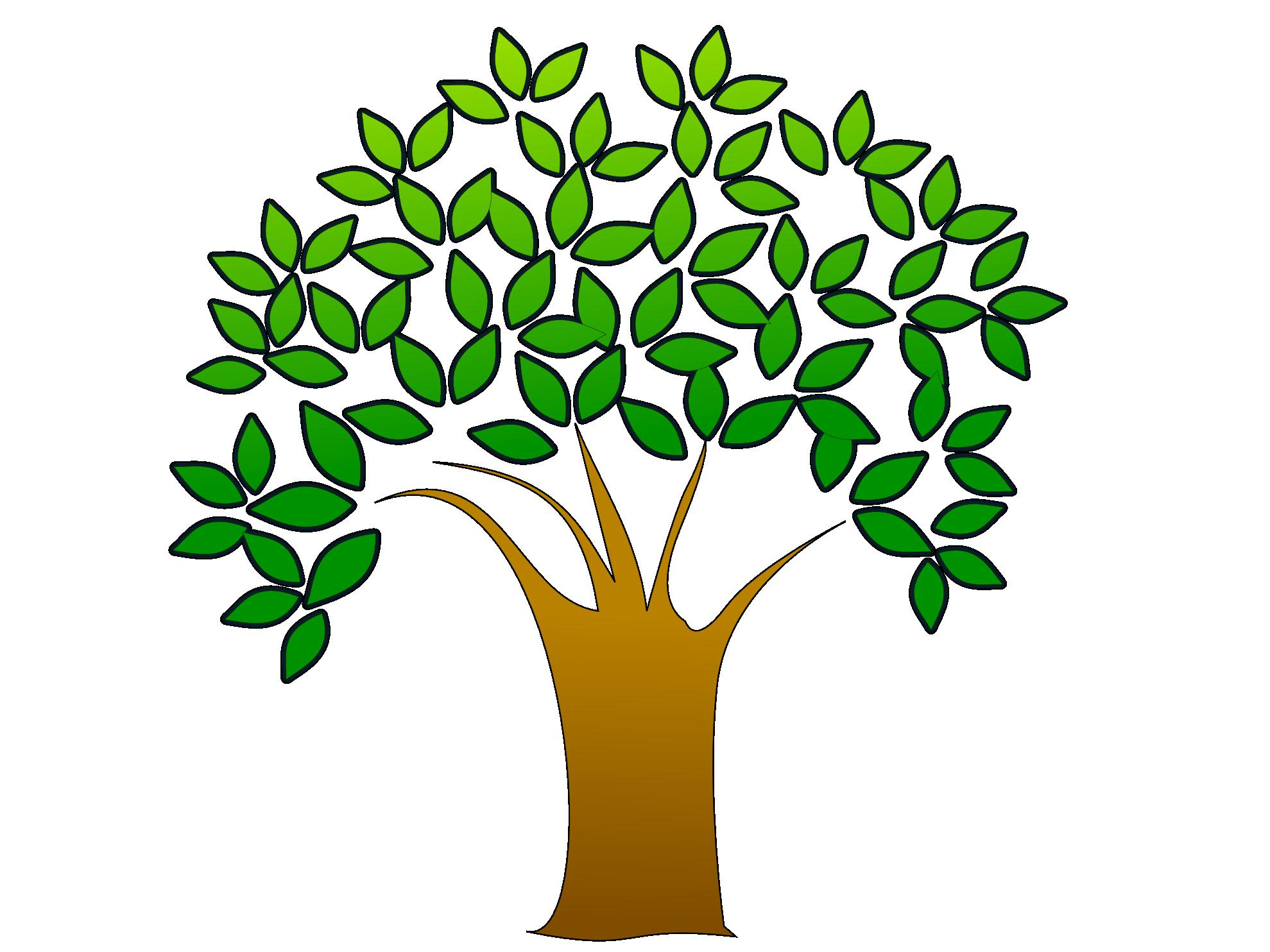 Oak tree tree clip art free clipart image clipart image