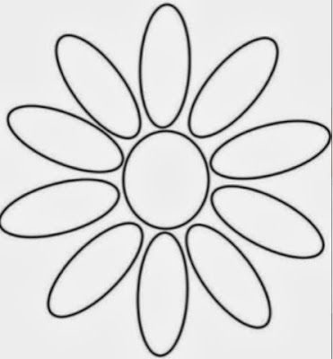 OCD Girl Scout Leaders- petals template