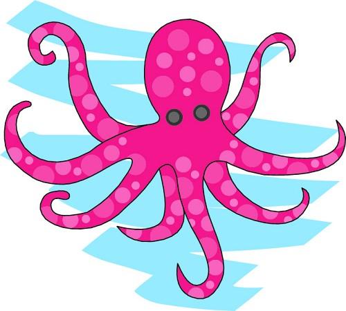 Ocean Animal Clip Art Clipart - Ocean Animal Clip Art