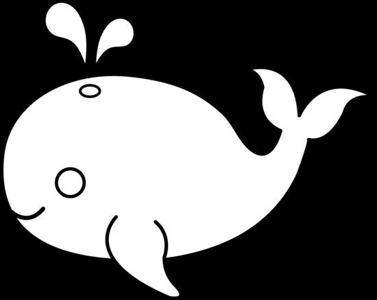 Ocean Animals Clip Art Black-Ocean Animals Clip Art Black-15