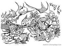 Ocean Clip Art Black and White-Ocean Clip Art Black and White-17