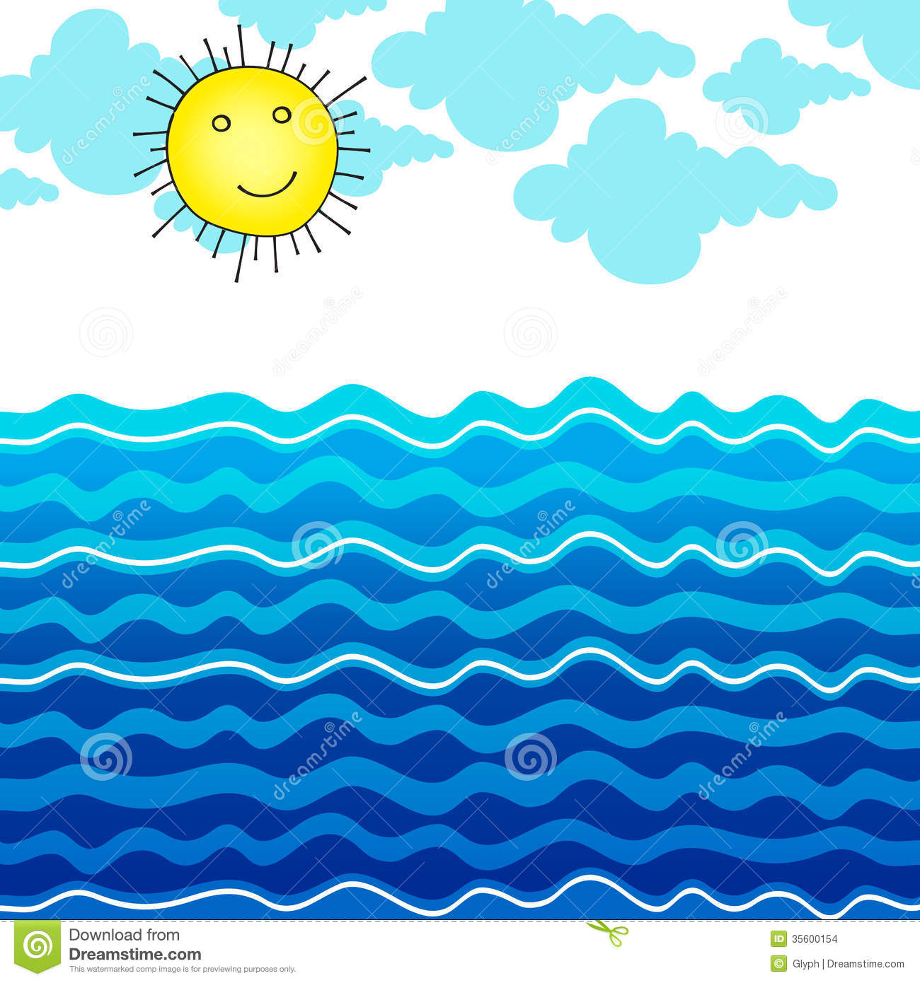 ocean clipart id-61171-ocean clipart id-61171-2