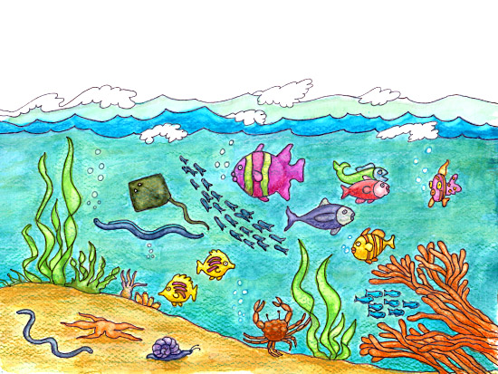 ocean clipart-ocean clipart-5