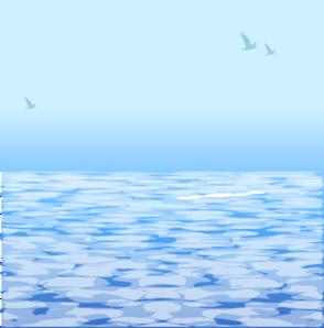 Ocean Water Free Clipart #1