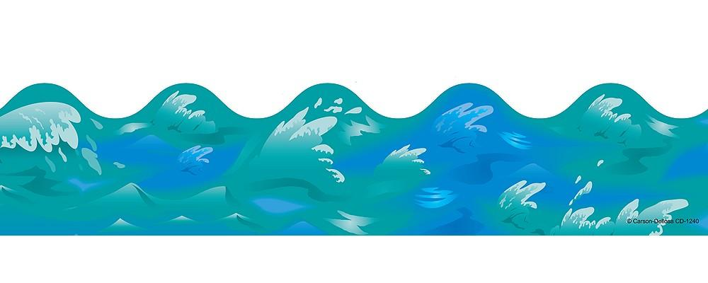 Ocean waves clip art