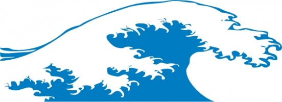 Ocean waves clipart free images 2
