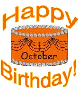 October Birthdays