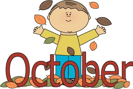 October, Clip art and Welcome .