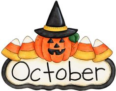 October clip art free free .