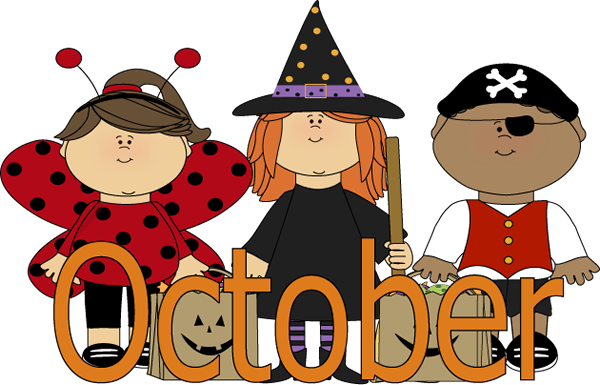 October Clipart Free