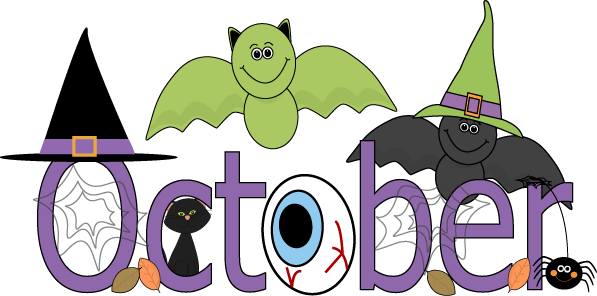 October Month Clip Art | Free - October Clip Art Free