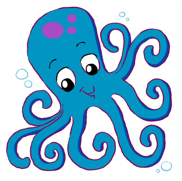 Octopus clip art free clipart images