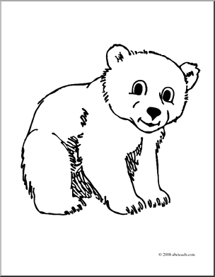 Of 1 Coloring Page Winter Snow White Baby Coloring Page Arctic