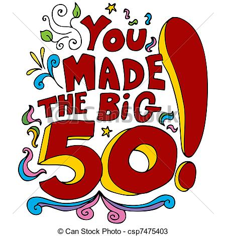 51 free 50th birthday clip art clipartlook