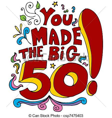 Of A 50th Happy Birthday